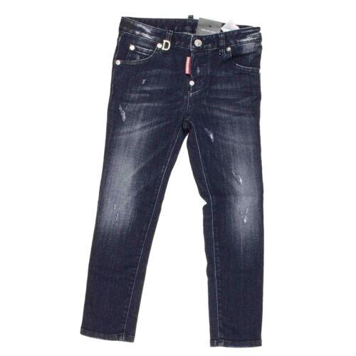 Dsquared2 Cool Girl Jeans schwarz Mädchenjeans Hose Denim Mädchenhose  NP €158