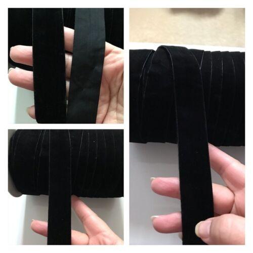 2 Meters Latest Indian 25 MM Velvet Lace Dupatta Kinare Sari Border Ribbon Trim