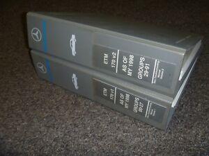 2001-2002 Mercedes Benz SLK230 SLK320 SLK32 AMG Electrical ...