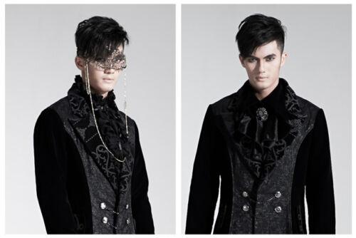 Bi Manteau Soirée Baroque Velours Punkrave Homme Gothique Dandy Élégant matière ICwqfH