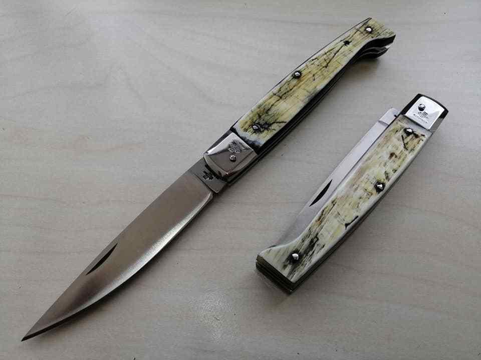 Coltello Tradizionale Pattada corno antico 21 cm couteau navaja knife