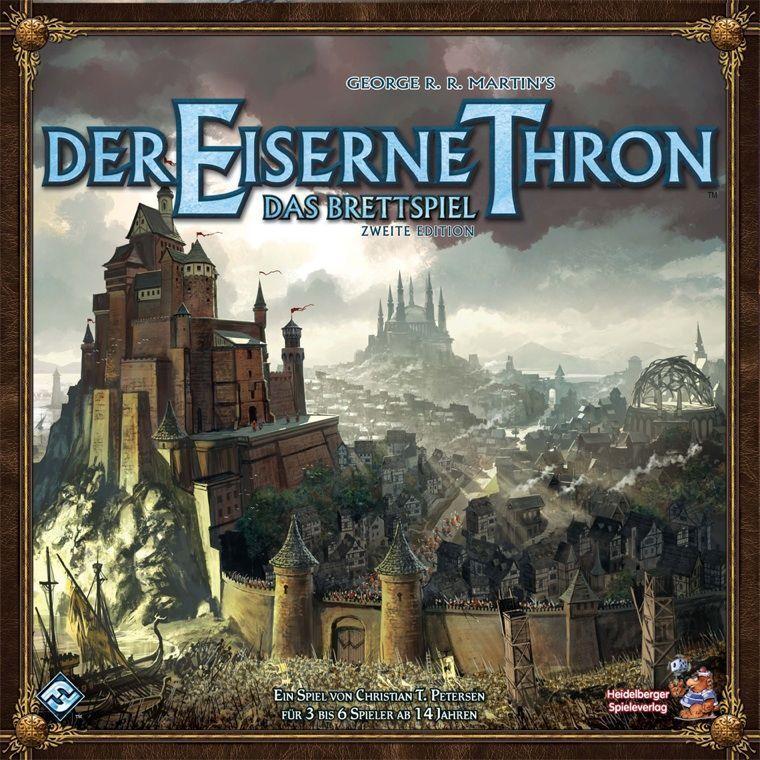 Il Trono di Ferro gioco da tavolo 2. EDITION-GIOCO-Heidelberger-OVP