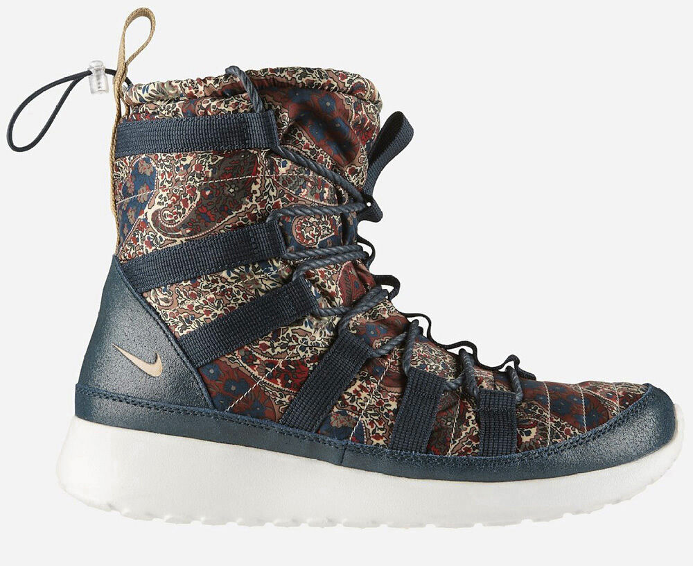 Nike Rosherun Hi Sneakerboot Liberty of London Qs Taille 38,5-41 Dunk 633519-402 SF- Chaussures de sport pour hommes et femmes