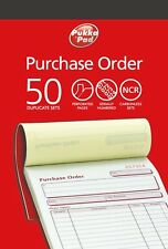 PUKKA PAD INVOICE//SALES INVOICE//DELIVERY//PURCHASE NOTE BOOK DUPLICATE//TRIPLICATE