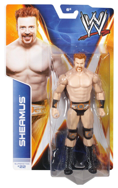 Wwe Sheamus Neu Nxt Signature Serie Basic Aktion Mattel Wrestling-Figur Wwf 62