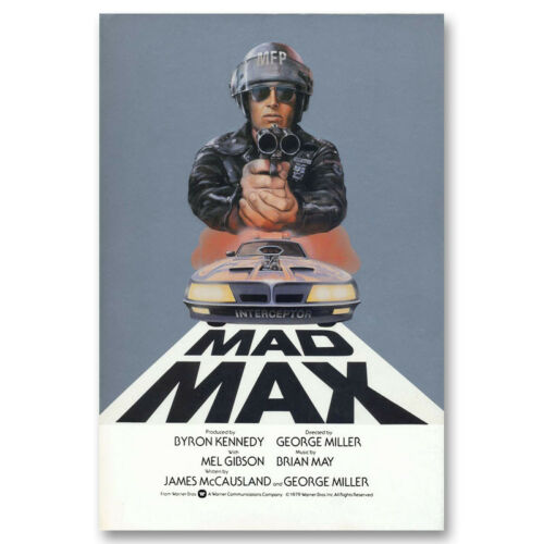 Mad Max 2 Classic Movie Canvas Poster Art Prints Picture 8x12 24x36 inches
