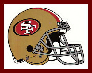 SAN-FRANCISCO-49ERS-FOOTBALL-NFL-HELMET-DECAL-STICKER-TEAM-LOGO-BOGO-25-OFF