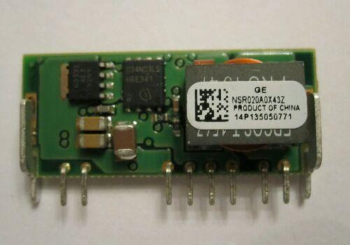 GE Critical Power NSR020A0X43Z Naos Raptor 120 Watt 20 Amp DC//DC Converter
