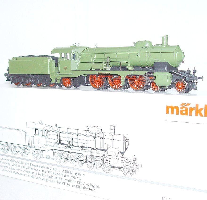 Marklin AC HO German K.W.St.E WURTTEMBERG CLASS-C Olive Steam Locomotive MB RARE