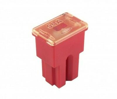 One Flosser 605050 Female PAL Type 50 Amp Fuse PAL0 FLF Made in South Korea