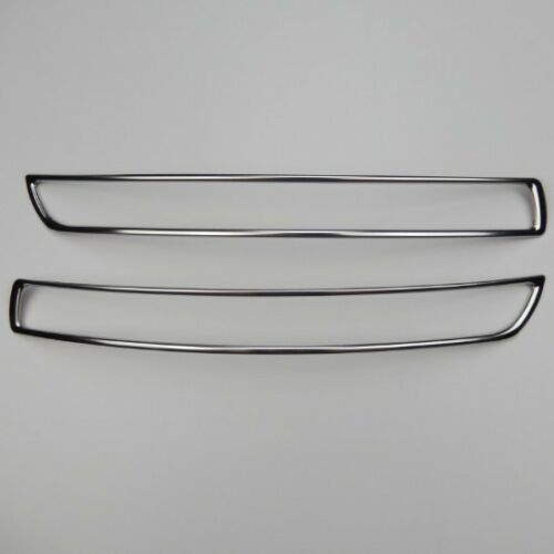 2pcs Stainless Steel front bumper air intake molding covers for Volvo XC90 08-14