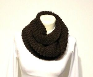Claire S Inspired Knit Scarf Cowl Chunky Neck Warmer Printed