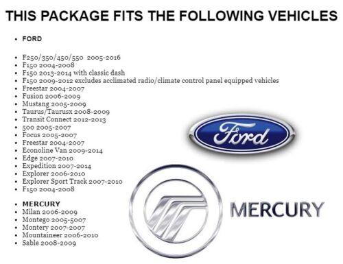 2004-2016 FORD F /& E SERIES CD//DVD BLUETOOTH USB OPT SIRIUSXM CAR RADIO STEREO