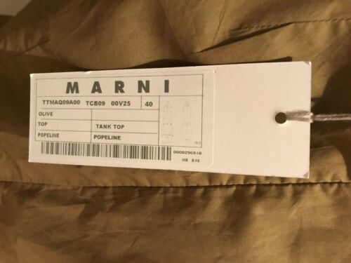 Neu Braun italienisch 34 Marni 40 Top Gr Bqawn64z