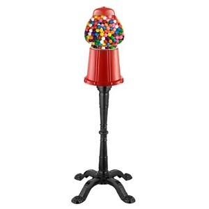 "15"" Vintage Candy Gumball Machine Bank with Stand 37 Inches High on Stand 193420013078"