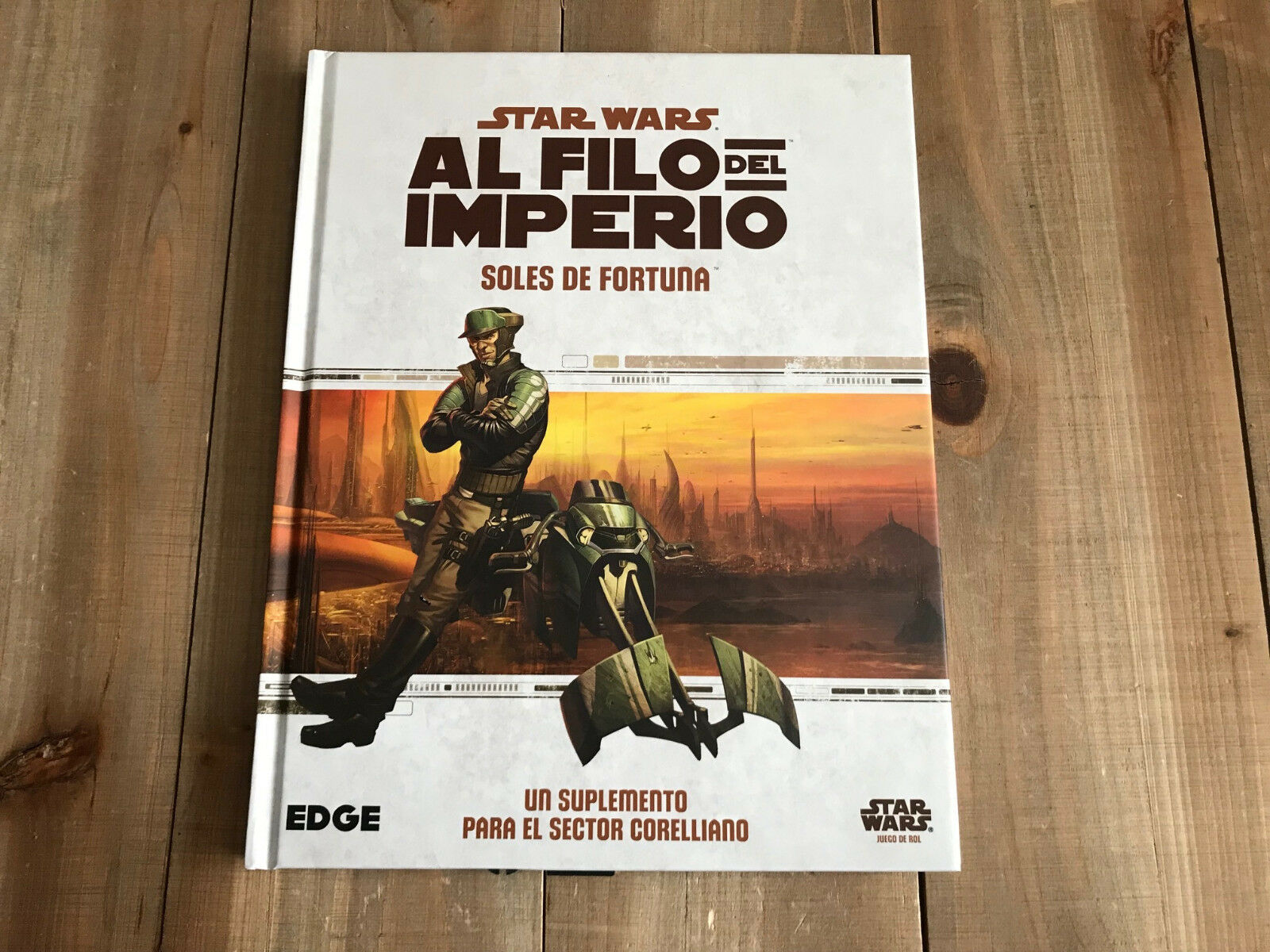 Star Wars at the Edge of Empire - Suns Fortune - Set Role Play - Ffg -