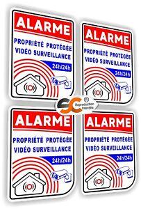 Sticker-Alarme-Lot-de-4-Stickers-Autocollant-iphone-samsung-Ps4-ipad