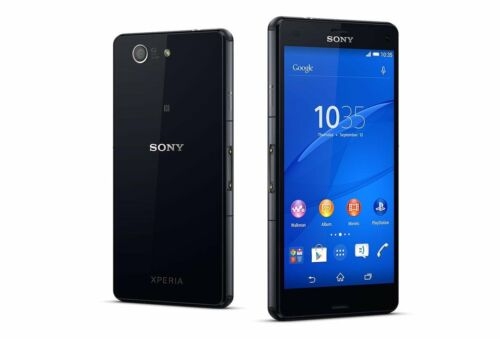 "1 of 1 - Black 4.6"" Unlocked Sony Ericsson Xperia Z3 Compact  D5803 LTE 16GB 20.7MP Phone"