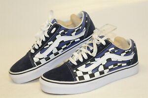 VANS-NEW-Womens-5-5-35-Old-Skool-Sneakers-Low-Top-Skateboard-Shoes-500714