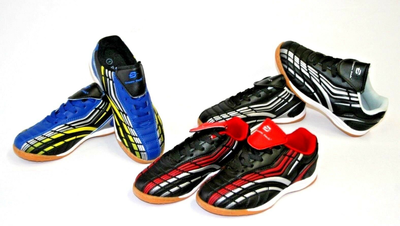 Kids Boys /& Girls Indoor Soccer Shoes Tennis Soccer Shoes Brand New Size 10-4