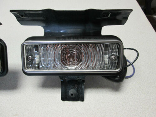 1969 69 Chevelle El Camino SS park lamp assembly housing lens rightr side RH