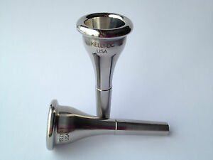 Stainless-steel / KELLY-MDC French horn mpc / Medium-deep / KELLY Mouthpieces