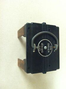 american 60 amp dryer fuse panel pull out holder ebay rh ebay com fuse panel for dryer Whirlpool Dryer Thermal Fuse Location