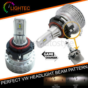 VW-GOLF-MK6-MK7-FANLESS-H7-LED-HEADLIGHT-BULBS-KIT-CANBUS-ERROR-FREE-PLUG-amp-PLAY