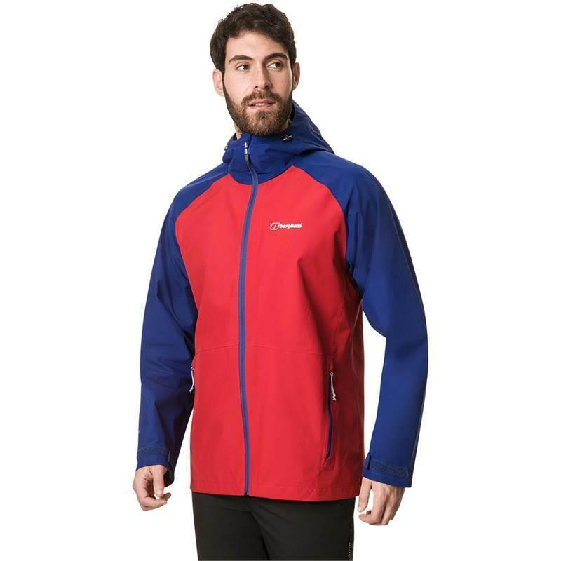 Berghaus Paclite 2.0 Gore-Tex Mens Waterproof Jacket X-Large rot   Dark Blau