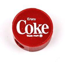 Coca-Cola Coke Spitzer Anspitzer rot USA 1960er Pencil Sharpeners