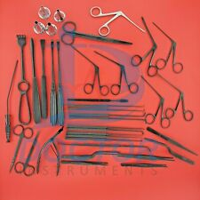 Tympanoplasty Micro Ear Surgery Instruments Set Grade Quality Black By Drinst