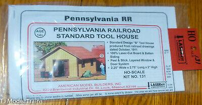 American Model Builders HO #131 Pennsylvania Railroad Standard Tool House