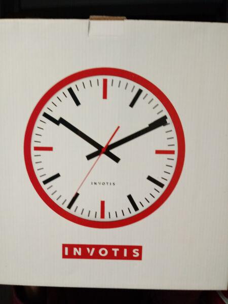 # Invotis Wanduhr - Uhr Ohne Ziffern - Neu! #