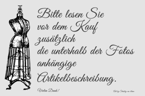 Mathilde M Kulturtasche Kosmetiktasche Schminktäschchen Schleife Shabby Vintage