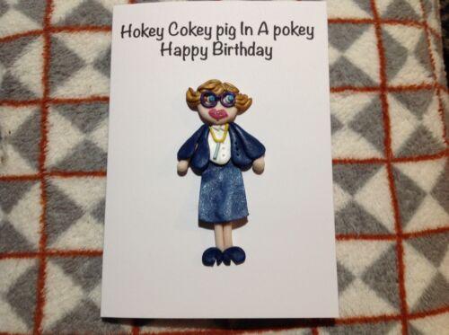 Birthday Card Pauline Handmade League Of Gentlemen Cute Gift