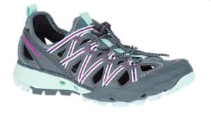 Merrell choprock Shandal Azul Humo Sandalia Excursionista Zapato mujer Tallas 6-10 NEW