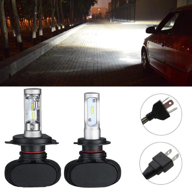 2x H4 CREE LED Headlight Car 9003 HB2 180W 6500K Replace Hi/Lo Beam Bulb Lamp#t