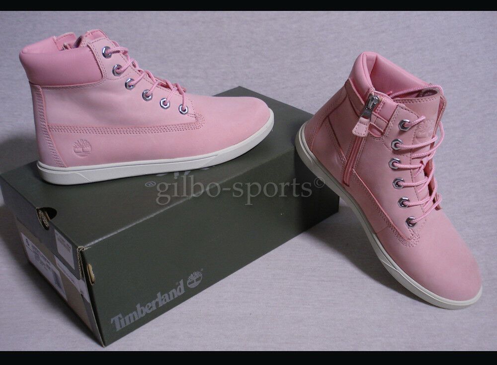 Timberland Groveton 6 IN  Lace Lace Lace Rosa Echtleder Nubuk Gr 39 40 A1P6D Stiefel Damen  | Qualität Produkt  eb1791