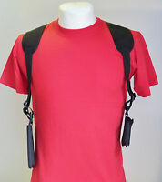 Cell Phone Shoulder Holster Fits Phones 5 Tall X 3 Wide - Phone & Wallet