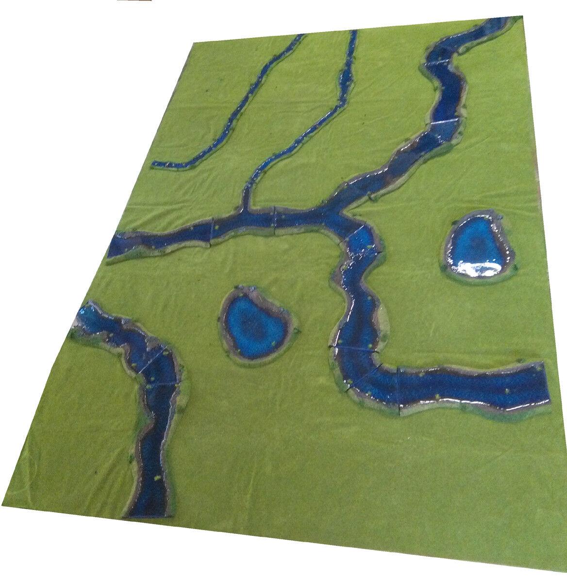 costo real Set terreno agua pintado de lujo lujo lujo 15-28mm - 30 - 48x72  mesa para los artículos  bienvenido a elegir