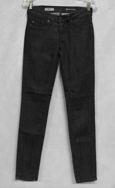 70a7c691ecc57 A5 NEW ADRIANO GOLDSCHMIED AG The Jegging Black Super Skinny Fit Jeans Size  26 R
