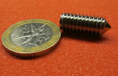 """Cone Point 30 Pieces 5//16/""""-18 x 3//4/"""" Length 18-8 Stainless Steel Set Screws"""