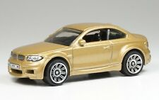 Matchbox BMW 1M (M1) Coupe 1:64 Diecast Gold Long Card