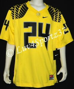 new products 812be a2bd9 Details about NWT Rare OREGON DUCKS Yellow NIKE FOOTBALL JERSEY #24 Simms  YOUTH XLarge XL