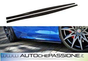 Coppia-Splitter-minigonne-per-BMW-Serie-1-F20-F21-2015-gt-abs-lip-lame