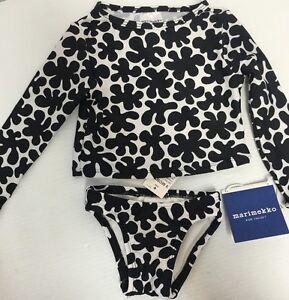 3f5120f48 NEW Marimekko Target Toddler Girl Print Rash Guard 2 Pc Swimsuit Sz ...