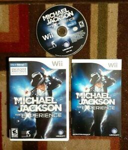 Michael Jackson The Experience Complete (Wii 2010) VG Shape & Tested  No Glove