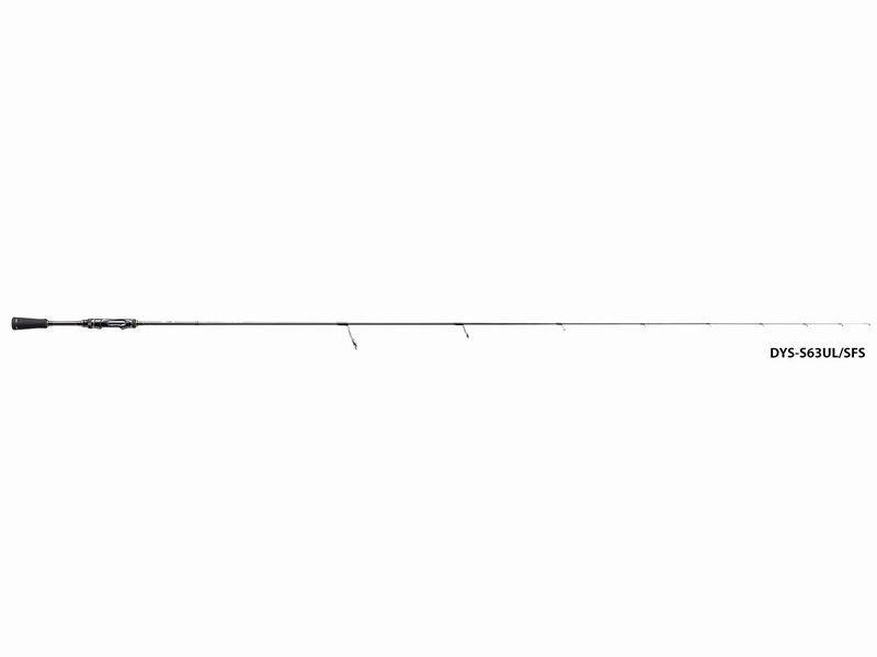 Major Craft Giorni Spinning Modello Super Sottile Solid 2pc DysS682l  Sfs