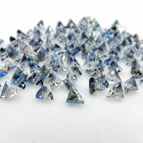 6mm Glass Triangle Crystal Bead Loose Special Bead DIY Jewelry Making Craft DIY