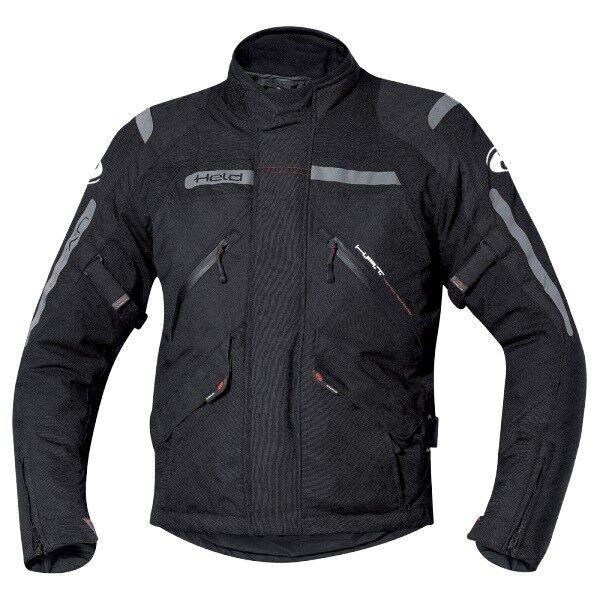 NEU Held Black 8 wasserdichte Motorradjacke schwarz  M  passend zur Hose Gamble